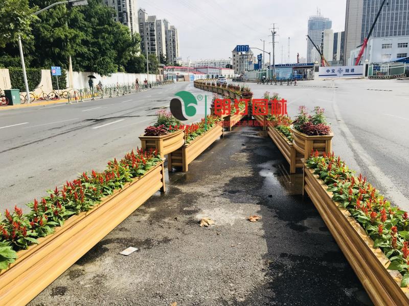 朗汀城市生态空间装饰工程-上海普陀区道路景观提升工程