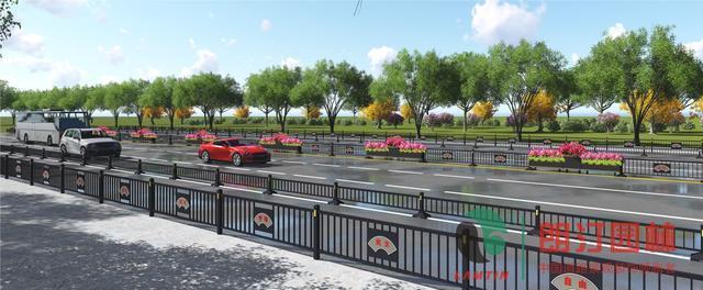 朗汀园林六安金寨县红军大道景观提升设计方案