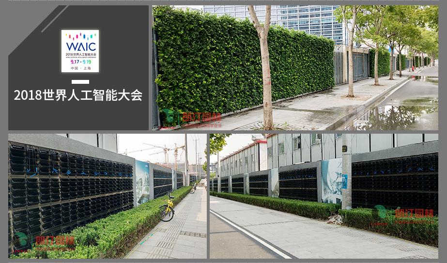 2 世界人工智能大会植物墙案例