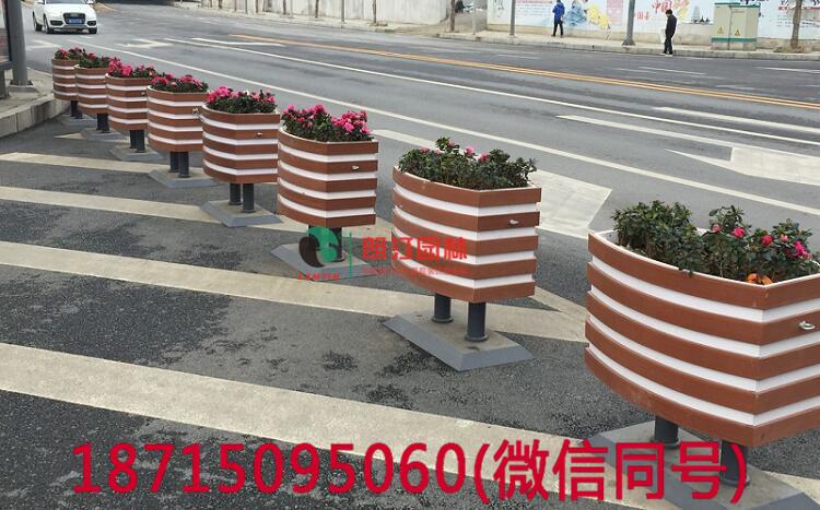 隔离花箱生态景观绿化