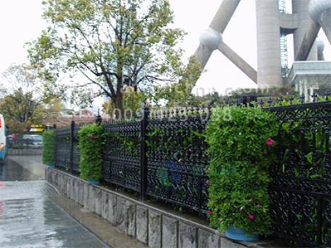 半圆广场景观设计